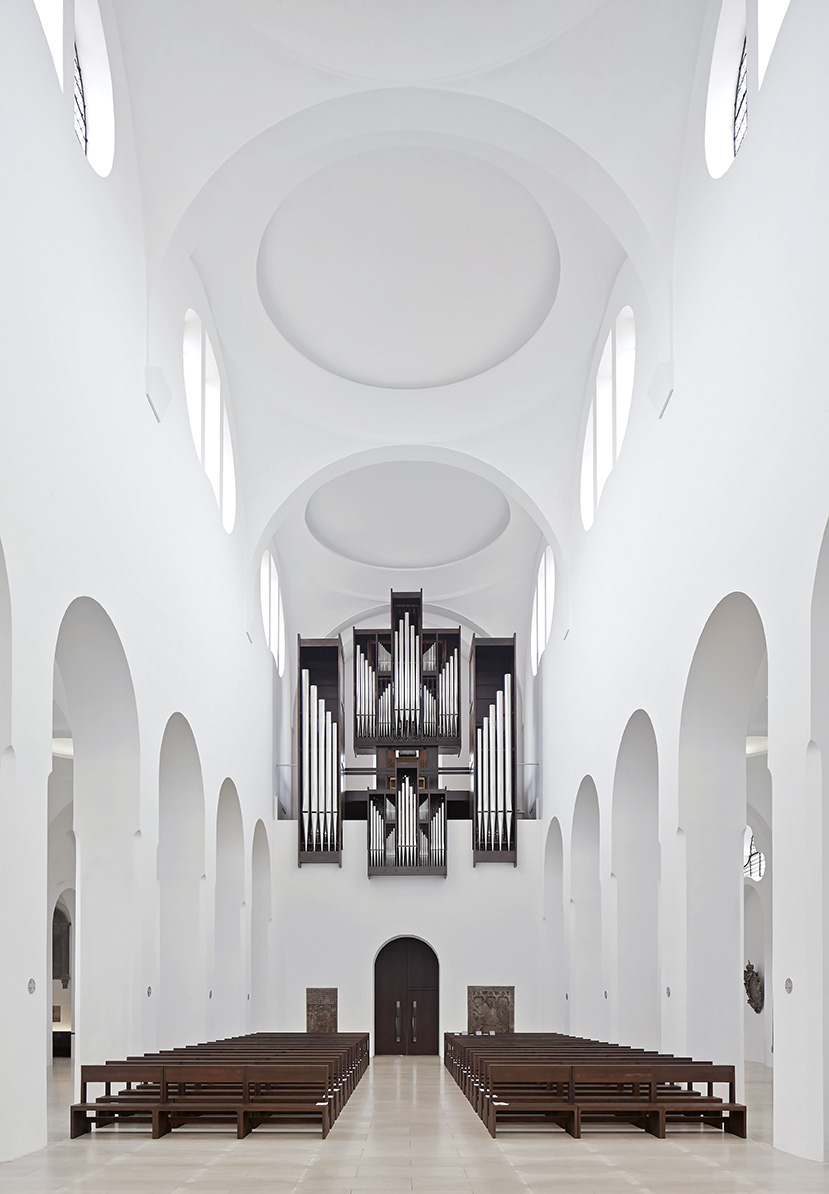 Hufton crow projects moritzkirche for Interior design augsburg