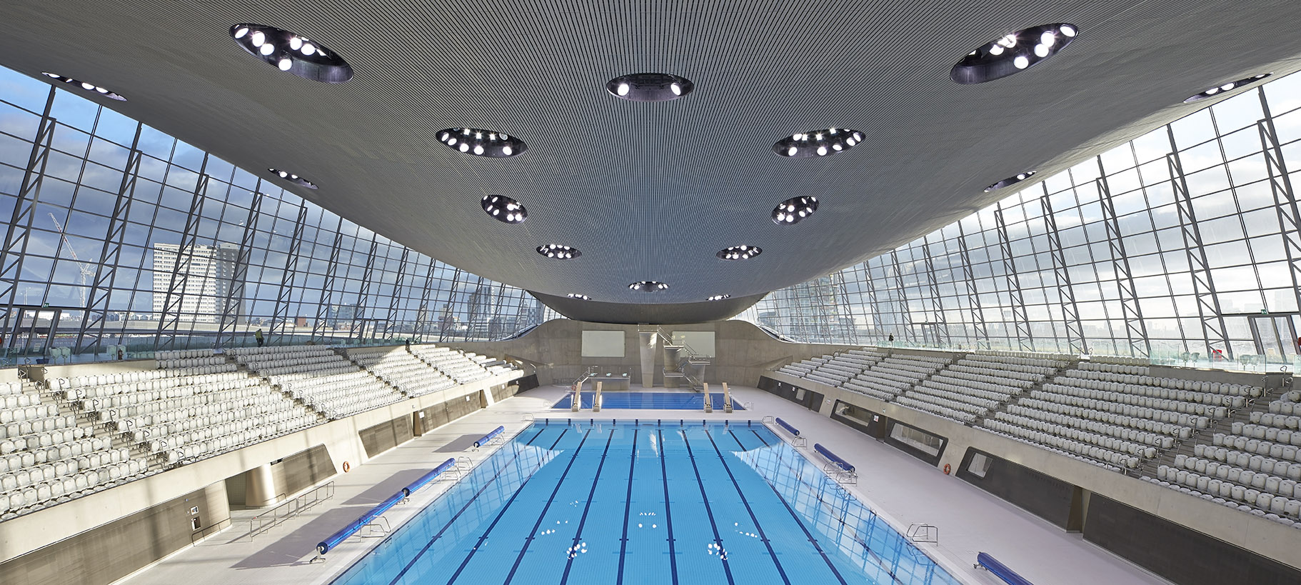 London Aquatics Centre - Legacy Mode