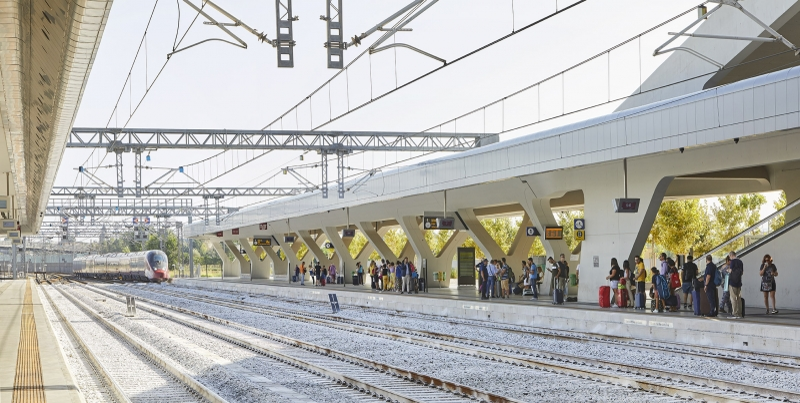Afragola Train Station